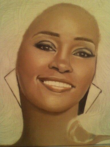Whitney Houston par Karlos1203